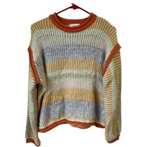 NWT Urban Outfitters Striped Boyfriend Sweater
